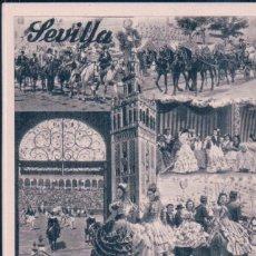 Postales: POSTAL SEVILLA - FIESTAS PRIMAVERALES - FOURNIER. Lote 195318210