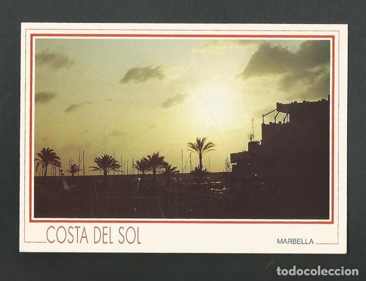 POSTAL CIRCULADA - MARBELLA - COSTA DEL SOL - MALAGA - EDITA MURIEL-LUIS (Postales - España - Andalucia Moderna (desde 1.940))