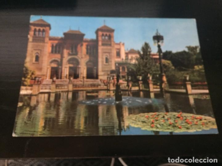POSTAL DE - SEVILLA - PLAZA DE AMERICA- BONITAS VISTAS - LA DE LA FOTO VER TODAS MIS POSTALES (Postales - España - Andalucia Moderna (desde 1.940))