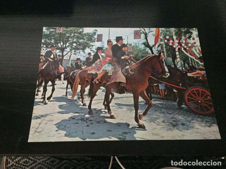 POSTAL DE - SEVILLA - FERIA DE ABRIL- BONITAS VISTAS - LA DE LA FOTO VER TODAS MIS POSTALES (Postales - España - Andalucia Moderna (desde 1.940))
