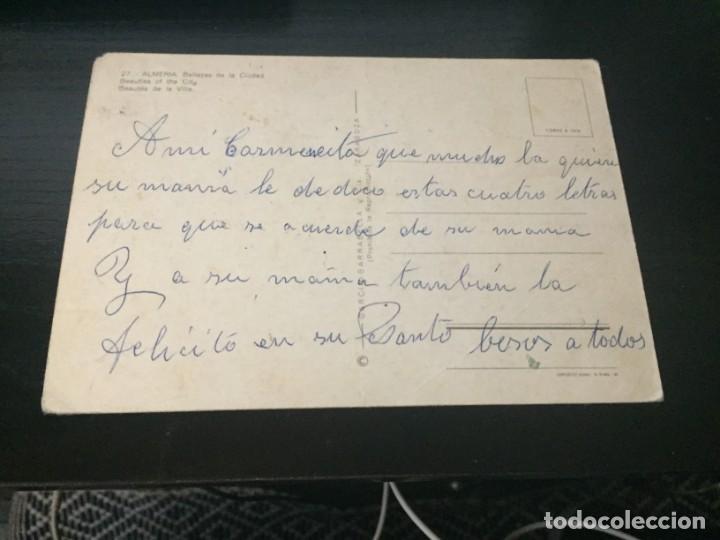 Postales: POSTAL DE - ALMERIA - - BONITAS VISTAS - LA DE LA FOTO VER TODAS MIS POSTALES - Foto 2 - 195386462