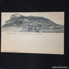 Postales: POSTAL GIBRALTAR N 20 PANORAMA FROM THE OLD MOLE NO INSCRITA NO CIRCULADA CUMBO MONTEGRIFFO. Lote 195413995