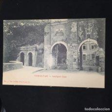 Postales: POSTAL GIBRALTAR SOUTHPORT GATE N 3 ARTISTIC POST CARD CO NO INSCRITA NO CIRCULADA. Lote 195414443