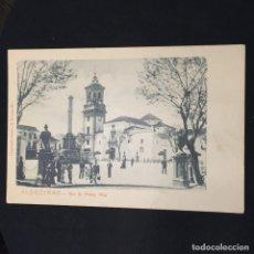 Postales: POSTAL ALGECIRAS N 3 PLAZA ALTA CUMBO MONTEGRIFFO NO INSCRITA NO CIRCULADA. Lote 195420180