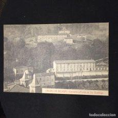 Postales: POSTAL CALDAS DE BESAYA CONVENTO Y FONDA SANTO DOMINGO FOT CASTAÑEIRA NO INSCRITA NO CIRCULADA. Lote 195421831