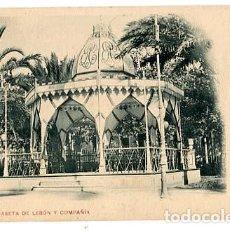 Postales: ( CADIZ PUERTO DE SANTA MARIA ) CASETA DE LEBÓN Y COMPAÑÍA. COL. VALLES FRÉRES. HAUSER Y MENET . Lote 195425786