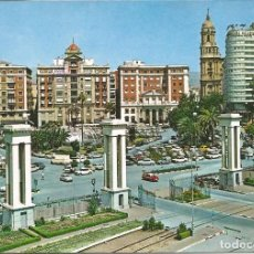 Postales: [POSTAL] VISTA PARCIAL DESDE EL PUERTO. MÁLAGA (SIN CIRCULAR). Lote 195469428