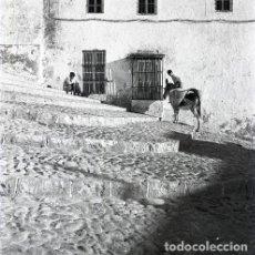 Postales: NEGATIVO ESPAÑA CÁDIZ MEDINA SIDONIA 1970 KODAK 55MM NEGATIVE GRAN FORMATO SPAIN FOTO PHOTO. Lote 195471213