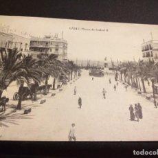 Postales: POSTAL DE CADIZ. HAUSER Y MENET. MADRID.SIN CIRCULAR PLAZA DE ISABEL II.. Lote 195515455