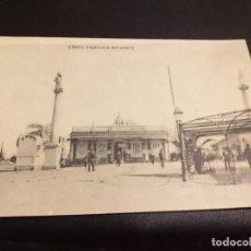 Postales: POSTAL DE CADIZ. HAUSER Y MENET. MADRID.SIN CIRCULAR CAPITANIA DEL PUERTO.. Lote 195515910