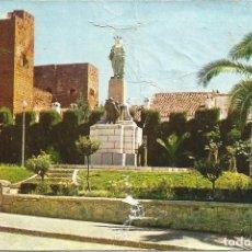 Postales: [POSTAL] MONUMENTO AL CORAZÓN DE JESÚS. PRIEGO DE CÓRDOBA (CÓRDOBA) AÑO 1965 (CIRCULADA Y FATIGADA). Lote 195527860