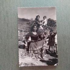 Postales: POSTAL GRANADA ALBAYZIN TIPOS GITANOS. Lote 195550921