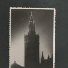 Postales: POSTAL CIRCULADA - SEVILLA - LA GIRALDA - EDITA SERRANO. Lote 195553321