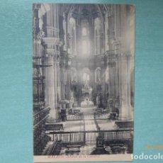 Postales: POSTAL- MALAGA INTERIOR DE LA CATEDRAL. . Lote 195929916