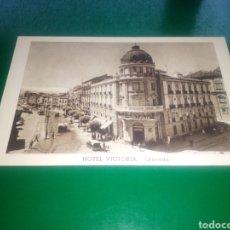 Postales: ANTIGUA POSTAL HOTEL VICTORIA DE GRANADA. Lote 195963830