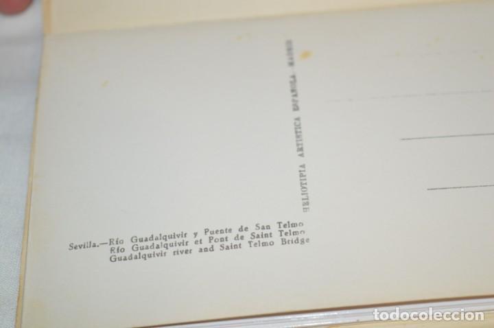 Postales: Bloc de SEVILLA / 10 Postales - Heliotipia Artística Española - ¡Mira fotos y detalles! - Foto 8 - 196305162