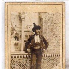 Cartes Postales: FOTOGRAFÍA RETRATO. PRINCIPE GITANO. GRANADA. ALHAMBRA. 13 X 8,50 CM. Lote 197106048