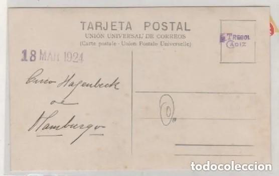 Postales: Postal fotográfica. Cadiz. Circo Hagenbeck de Hamburgo. Sin circular. El Trebol Cadiz. - Foto 2 - 197108546