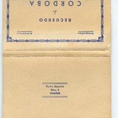 Postales: ACORDEÓN 10 POSTALES CÓRDOBA DE PEDRO ESPERÓN. Lote 197225127