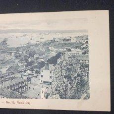 Cartes Postales: ANTIGUA POSTAL DE GIBRALTAR Nº 13 ROSIA BAY BLANCO Y NEGRO PPIO S XX. Lote 197436492