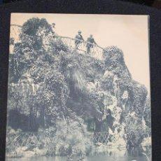 Postales: POSTAL CADIZ CASCADA DEL PARQUE GENOVES 1222 HAUSER Y MENET MADRID S XX. Lote 197441715