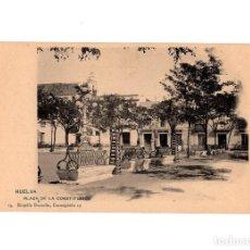 Postales: HUELVA.- PLAZA DE LA CONSTITUCIÓN. Nº 19. ROGELIO BUENDIA.. Lote 198163100