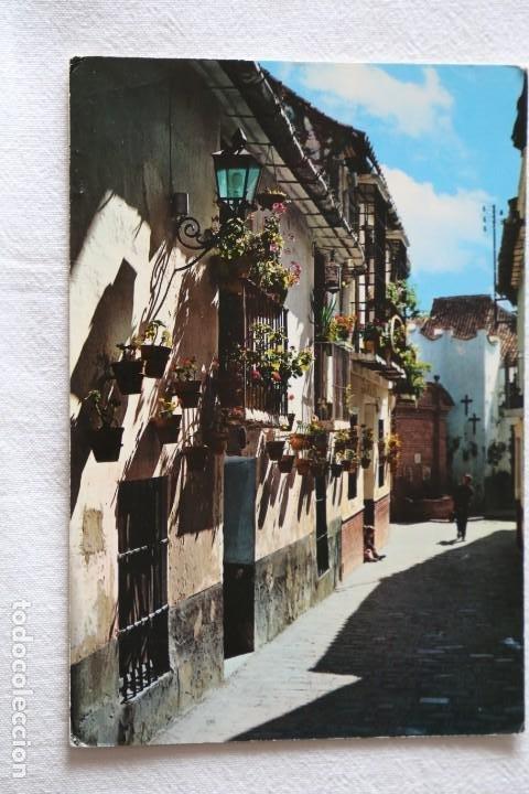 COSTA DEL SOL, MALAGA RINCÓN TIPICO GARCIA GARRABELLA Nº 3 MATASELLOS GRANADA 1969 (Postales - España - Andalucia Moderna (desde 1.940))