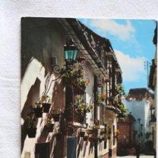 Cartes Postales: COSTA DEL SOL, MALAGA RINCÓN TIPICO GARCIA GARRABELLA Nº 3 MATASELLOS GRANADA 1969. Lote 198904000