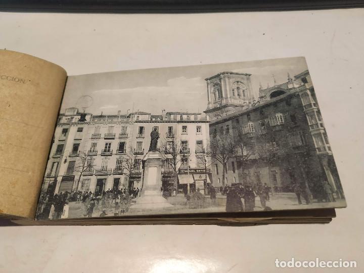 Postales: CARNET POSTAL GRANADA - 24 POSTALES (FALTA 1) - CIUDAD - CATEDRAL - CARTUJA - GENERALIFE - Foto 7 - 199372405