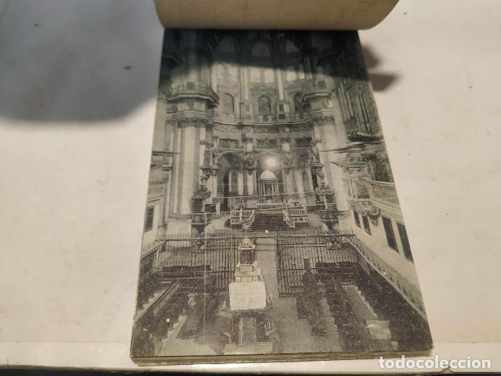 Postales: CARNET POSTAL GRANADA - 24 POSTALES (FALTA 1) - CIUDAD - CATEDRAL - CARTUJA - GENERALIFE - Foto 14 - 199372405