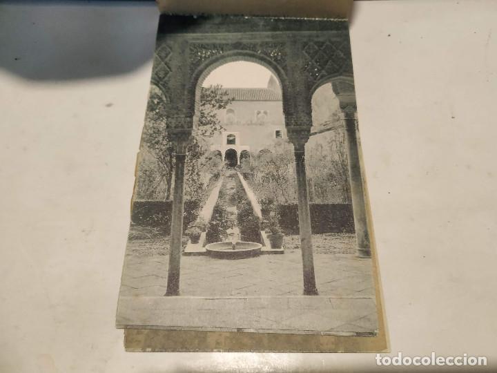 Postales: CARNET POSTAL GRANADA - 24 POSTALES (FALTA 1) - CIUDAD - CATEDRAL - CARTUJA - GENERALIFE - Foto 23 - 199372405