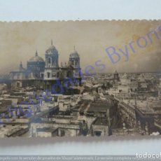 Cartes Postales: POSTAL. CÁDIZ. CATEDRAL Y VISTA PARCIAL. GARCÍA GARRABELLA Nº 16. Lote 199965846