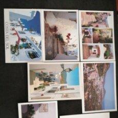 Postales: FRIGILIANA, MÁLAGA. LOTE DE 7 POSTALES. Lote 200001668