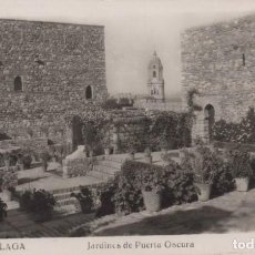 Postales: POSTAL MALAGA - JARDINES DE PUERTA OSCURA - 225 ROISIN . CIRCULADA. Lote 200022053