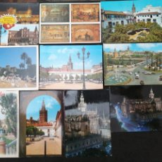 Postales: SEVILLA, LOTE DE 10 POSTALES. Lote 200058566