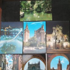 Postales: SEVILLA, LOTE DE 7 POSTALES. Lote 200058975