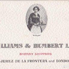 Postales: JEREZ DE LA FRONTERA (CADIZ) - WILLIAMS & HUMBERT LTD TACO CON 6 POSTALES DIBUJOS TAURINOS. Lote 200192246