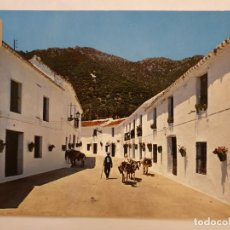 Postales: MIJAS - MÁLAGA - CALLE DE LOS CAÑOS - M6. Lote 200762785