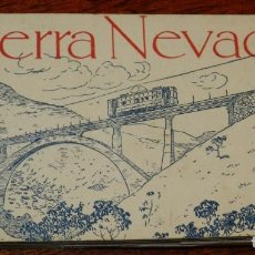 Postales: SIERRA NEVADA, CUADERNILLO CON 20 POSTALES. FOTOTIPIA DE HAUSER Y MENET. . Lote 201674537