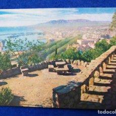 Postales: POSTAL DE MÁLAGA. # 012. PANORAMICA DESDE LA HOSTERIA. SELLO DE FRANCO. Lote 202975521