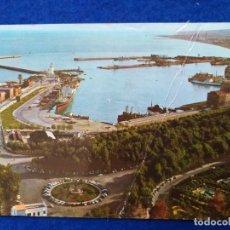 Postales: POSTAL DE MÁLAGA. Nº 11. PASEO DE LA FAROLA Y PUERTO. CIRCULADA. SELLO DE FRANCO. Lote 203012632