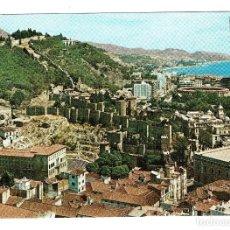 Postales: MALAGA VISTA GENERAL Nº 39 DOMINGUEZ - CIRCULADA SELLO 1,50 PESETAS FRANCO AÑOS 60 70. Lote 203184575