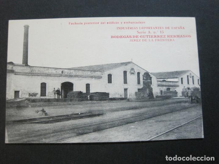 Postales: JEREZ DE LA FRONTERA-BODEGAS GUTIERREZ HERMANOS-VINOS,CHAMPGNE...PREMIER-POSTAL ANTIGUA-(69.431) - Foto 2 - 203290548