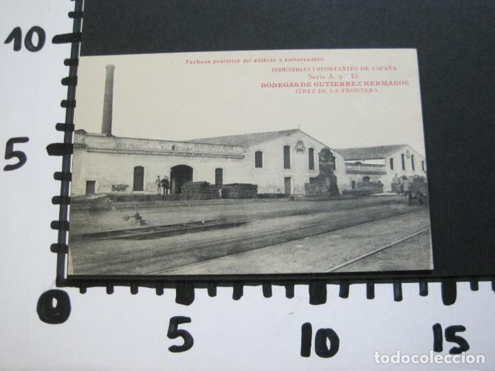 Postales: JEREZ DE LA FRONTERA-BODEGAS GUTIERREZ HERMANOS-VINOS,CHAMPGNE...PREMIER-POSTAL ANTIGUA-(69.431) - Foto 4 - 203290548