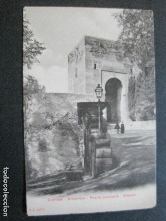 Postales: GRANADA-ALHAMBRA-PUERTA JUDICIARIA-P.Z. 10371-POSTAL ANTIGUA-(69.719) - Foto 2 - 203833807