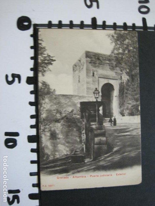 Postales: GRANADA-ALHAMBRA-PUERTA JUDICIARIA-P.Z. 10371-POSTAL ANTIGUA-(69.719) - Foto 5 - 203833807