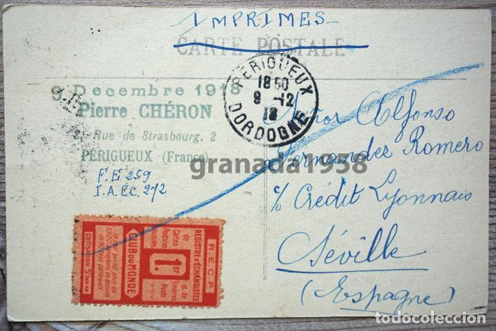 CARTOFILIA SEVILLA. POSTAL A UN COLECCIONISTA DE SEVILLA: ALFONSO FERNÁNDEZ ROMERO (Postales - España - Andalucía Antigua (hasta 1939))