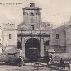 Postales: CADIZ PUERTA DE TIERRA. ED. HAUSER Y MENET. SIN CIRCULAR. Lote 205299010