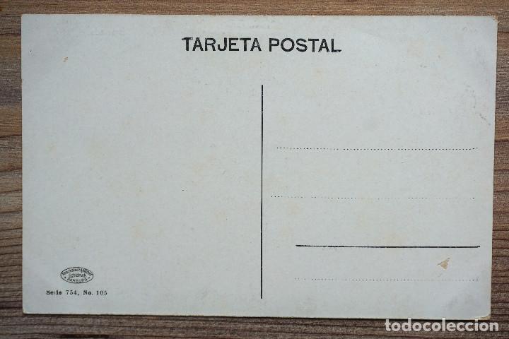 Postales: GRANADA. FUENTE DE LA BOMBA. JARDINES. PASEO DE LA BOMBA. KNACKSTEDT SERIE 754 nª 105 - Foto 2 - 205535226