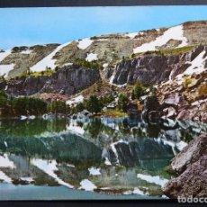 Postales: VINUESA (SORIA) PICOS DE URBIÓN, LAGUNA NEGRA, POSTAL CIRCULADA DEL AÑO 1977. Lote 205572095